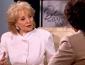 Barbara Walters talks about her daughter