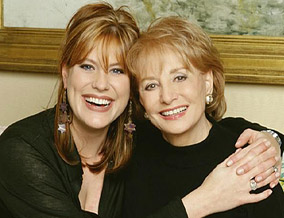 Barbara Walters and her daughter, Jackie