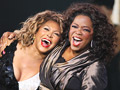 Tina Turner and Oprah