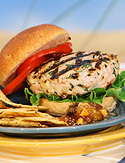 Mar-a-Lago's Turkey Burger