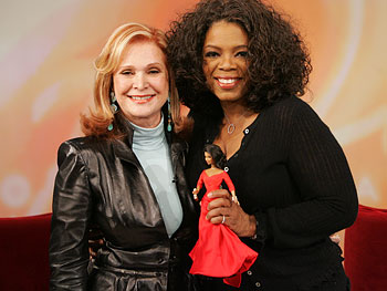 Barbara Handler Segal and Oprah