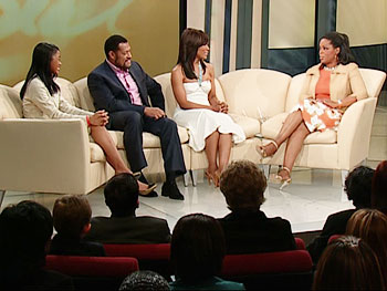 Oprah and the cast of 'Akeelah and the Bee.'