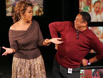 Oprah and Reggie