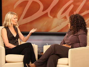 Gwyneth Paltrow and Oprah