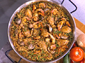 Mario Batali's paella