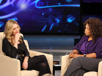Tatum O'Neal and Oprah