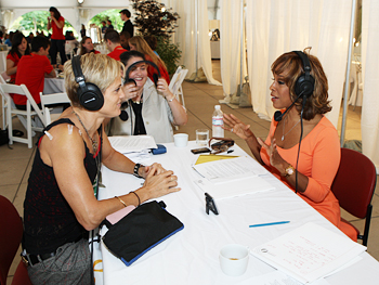 Gayle talks to Dara Torres.