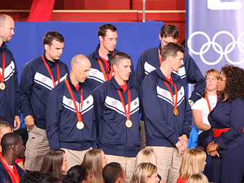 The U.S. men's volleyball team