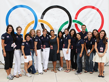 Ralph Lauren donated Olympic gear to Team Harpo.