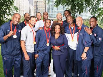 The U.S. men's basketball team