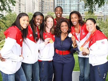 The U.S. women's basketball team