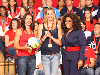 The U.S. women's beach volleyball team