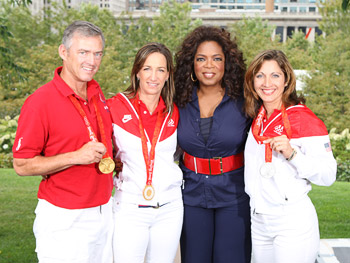 The U.S. equestrian team