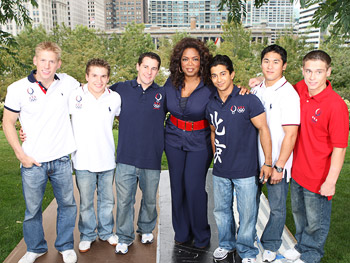 The U.S. men's gymnastics team