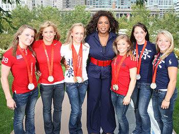 The U.S. women's gymnastics team