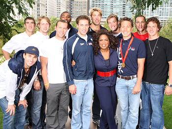 U.S. men's swimming team
