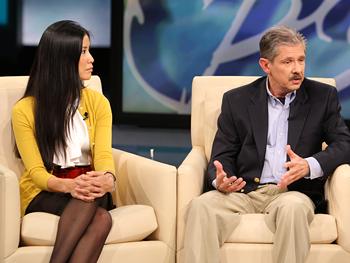 Lisa Ling and Kent Whitaker