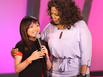 Oprah and Charice Pempengco