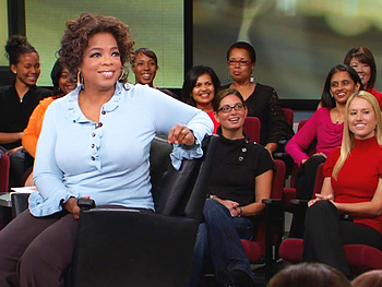 Oprah takes the rudeness test.