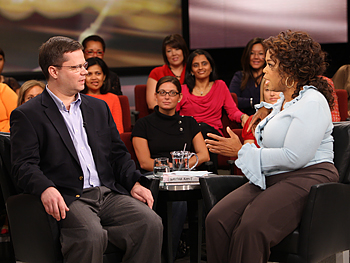 Steve and Oprah discuss restaurant etiquette.