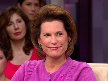 Nancy Brinker, founder of Susan G. Koman for the Cure