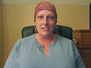 Dina, a pregnant woman with breast cancer