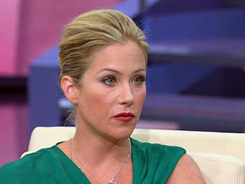 Christina Applegate talks about the BRCA gene.