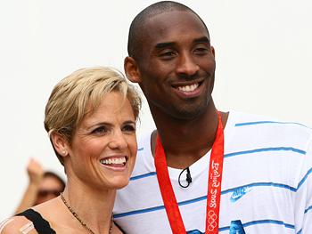 Kobe Bryant and Dara Torres