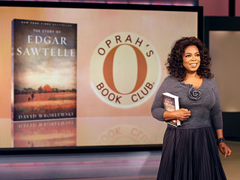 Oprah with The Story of Edgar Sawtelle