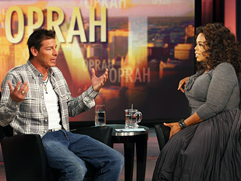 Ty Pennington and Oprah