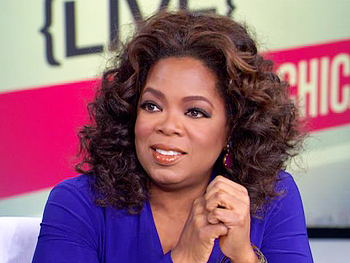 Oprah thanks viewers for helping push the passage of the PROTECT Our Children Act.