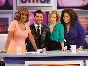 Gayle, Mark, Ali and Oprah