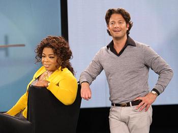 Oprah and Nate Berkus
