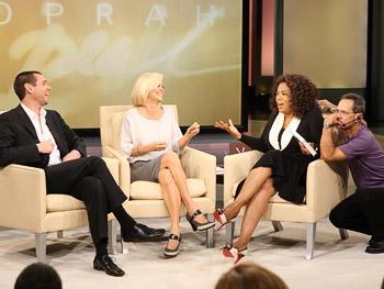 Jim Carrey, Jenny McCarthy, Oprah and Dean