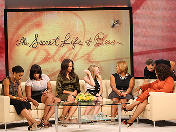 The Secret Life of Bees cast and Oprah