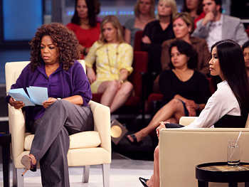 Oprah and Lisa Ling