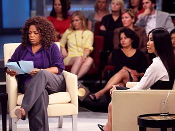 Oprah and Lisa Ling
