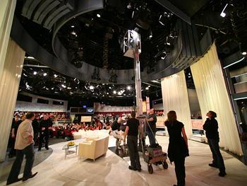 The Oprah Show set