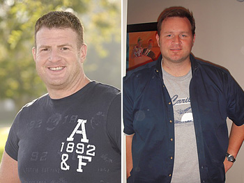 Ryan Benson and Erik Chopin share their weight loss struggles.
