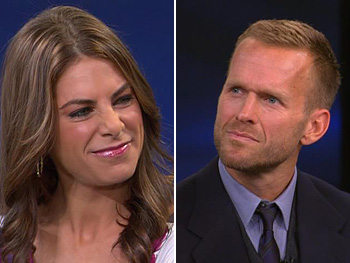 Jillian Michaels and Bob Harper, trainers on The Biggest Loser