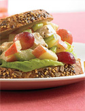 Chicken Salad Dijon with Grapes and Apple