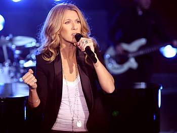 Celine performs My Love.