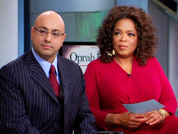 Ali Velshi and Oprah