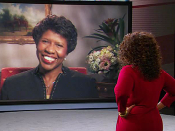 Oprah and Gwen Ifill