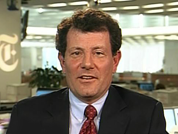 New York Times columnist Nicholas Kristof