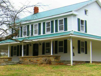 Karen raffled off her home in Hancock, Maryland.