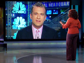 Dylan Ratigan and Oprah