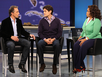 Dr. Oz, Oprah and author Dan Buettner discuss the blue zones.