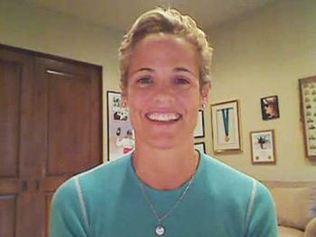 U.S. Olympic swimmer Dara Torres