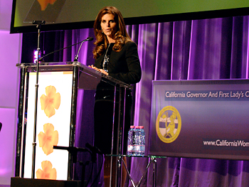Maria Shriver at The Women's Conference